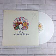 "Queen - A Night At The Opera White Coloured 12"" Vinyl Album (France) 1978 - Rare"