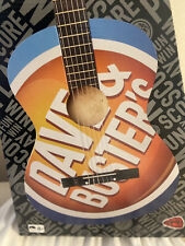 Acoustic Guitar - Dave & Busters Collectible