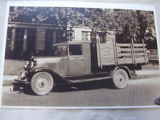 1930 1931 CHEVROLET  LIGHT DUTY STAKE SIDE   TRUCK 11 X 17  PHOTO /  PICTURE