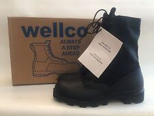 GI Jungle Boots Speedlace Black Size 7R Wellco