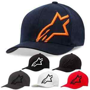 Alpinestars Racing Corp Shift 2 Mens Flexfit Fitted Casual Cap MX Hat