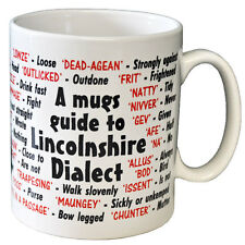 Lincolnshire Dialect Coffee - Tea Mug - Joke - Idea Gift / Secret Santa