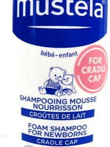 Mustela Baby Cradle Cap Foam Mousse Shampoo 5.07 Oz Pediatric Eczema 12/20/22