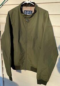 BARBOUR Royston Jacket (Harrington style), Olive, XXL (size 46-49), New