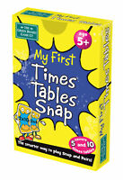 My First Times Table Snap and Pairs Card Game - Educational Game for Children 5+