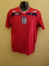 England National Team Umbro Soccer Jersey Gently Used Size M