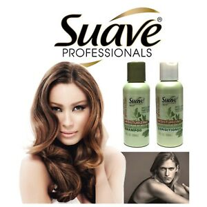 Suave Professionals Moisturizing Shampoo/Conditioner Almond + Shea Butter 3 oz
