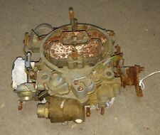 Corvette rochester Q-jet carburetor - 1975  - gm # 7045222 dated mar 9 1975