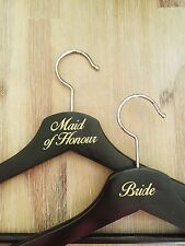 DIY Bridal Party Coat Hanger Sticker decal (1 decal)