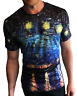Van Gogh's 'Starry Night Over the Rhone' All-Over Print T-Shirt