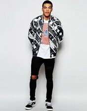 NEW ADIDAS ORIGINALS UNISEX TT TRACK ATHLETIC JACKET IN TRACK PRINT SZ/ MEDIUM