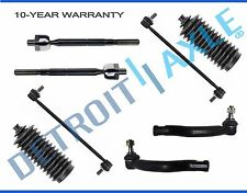 NEW 8pc Front Suspension Sway Bar + Tie Rod & Boot for 2006 - 2015 Toyota RAV4