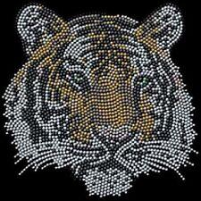 Tiger Rhinestone Iron on Transfer     OR5J