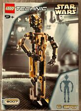 LEGO Technic Star Wars 8007 C-3PO. New, Sealed. Rare. Some Shelfwear. See Photos