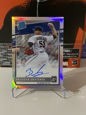 2020 Donruss Optic - Brusdar Graterol - Silver Prizm On Card Auto Rated Rookie