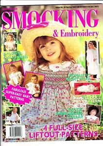 Australian Smocking & Embroidery - Issue No 26 - Spring 1993 - Extremely Rare