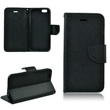 Handy Tasche für SAMSUNG GALAXY S3 MINI Flip Case FANCY Schutzhülle - Schwarz