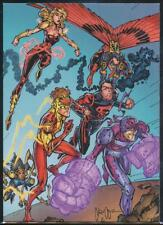 2012 Cryptozoic DC Comics New 52 Trading Card #56 Teen Titans