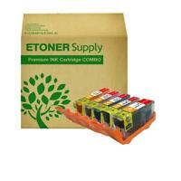 5x  Ink inkjet Cartridge for Canon CLI-221 PGI-220 PIXMA MP620 MP620B printer