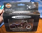 New Harley Davidson collector tin Playing cards