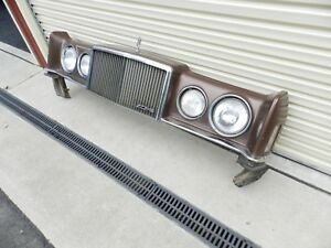 FORD LTD ROLLS ROYCE COMPLETE FRONT/SUITS SILVER MONARCH LTD 1976-1978