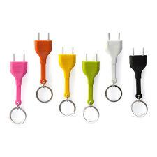 Wall Decroation Key Ring Holder Unplug Keyring Socket Plug Unplug Keychain
