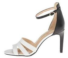 Women's Shoes Jessica Simpson MASELLI Strappy Heels Sandals WHITE BLACK