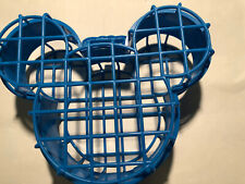 Micky Mouse Shaped Head Lunchbox Cage Blue