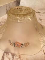 Antique Yellow Frosted Pendant Lamp Shade