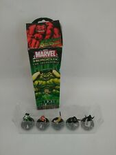 Marvel Heroclix The Incredible Hulk Booster Pack 5 Collectible Mini Game Pieces