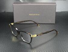 Dolce & Gabbana DG5036 502 HAVANA DEMO LENS 53 mm Women's Eyeglasses
