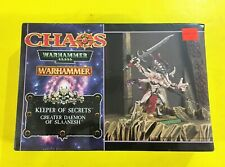 WARHAMMER 40,000 CHAOS Keeper of Secrets Greater Daemon Of Slaanesh Model KIT
