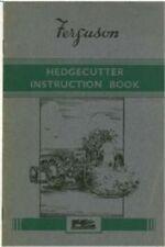 Ferguson Hedgecutter Operators Manual - Same as Marples