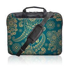 TaylorHe Laptop tasche für 15 Zoll 15,6 Zoll Umhängetasche mit Muster Paisley