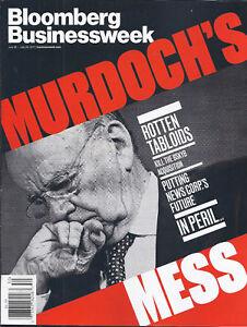 Bloomberg Businessweek Magazine Rupert Murdoch Spotify Innovation Engineering  .