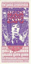 Wes Wilson Art 1993 2nd Annual Rock Poster Expo Show Handbill San Francisco Mint