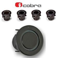 COBRA f0194s 4 VIE AUTO ANTERIORE SENSORE DI PARCHEGGIO KIT 25mm Nero A0156