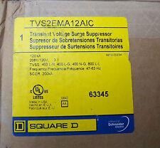 SQUARE D TVS2EMA12AIC Transient Voltage Surge Suppressor 208Y/120V 3 Ph 4 wire
