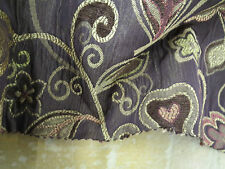 RM Coco Fabrics Pattern V623-203 Embroidery Chenille Matelasse 2.9 Yd x 55 In