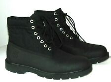 Men's Timberland Roll-Top Boot Black Size: 11.5  Style: 6223B