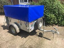 Ifor Williams P5e Utility Trailer Hire Cheshire 5'x3' Removable Mesh Sides