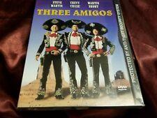 THREE AMIGOS Steve Martin Chevy Chase Martin Short DVD! New & sealed, ships fast