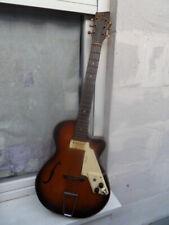 Vintage guitar 50's Egmond Lucky 7 instrument guitare a jouer ou collection !!