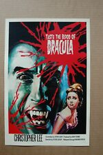 Taste the Blood of Dracula Lobby Card Movie Poster Christopher Lee___