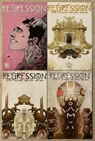 Lot Of 4 Regression #1-3 & 6 Issue Run Set IMAGE COMICS VF