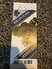 2017 ARMY VS SAN DIEGO STATE ARMED FORCES BOWL TICKET STUB 12/23