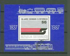 Austria J07 used 1987 s/s Symbol Railroad Transport