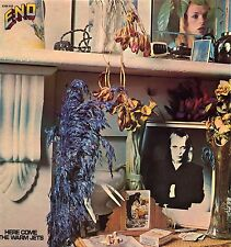 """ENO """"HERE COME THE WARM JETS"""" ORIG FR 1973 PINK RIM ROXY MUSIC"""