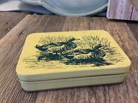 Vintage Playing Cards - In Duck Tin W/ Score Sheets - 2 Decks In Colorful Tin