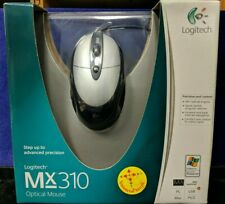 New Logitech Wired Optical Mouse MX310 USB Factory Sealed Box Gaming Gamer
